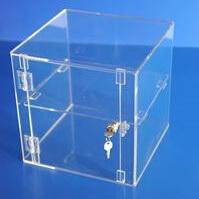 Acrylic display case 300mm x 300mm x 300mm