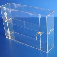 Acrylic display case 400mm x 600mm x 150mm