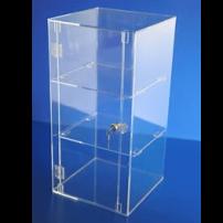 Acrylic display case 600mm x 300mm x 300mm