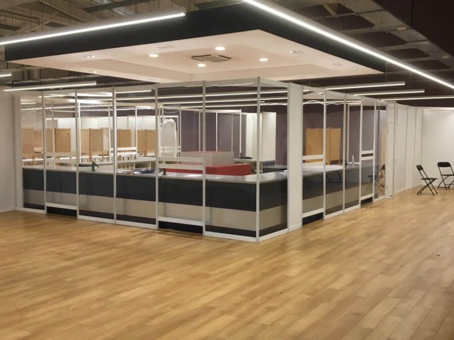 Vaccination pods and booths - 6