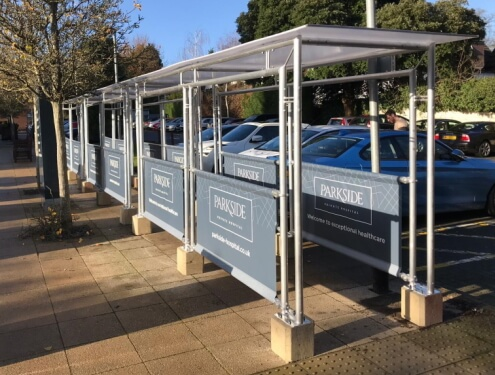 Commercial canopy and shelter design